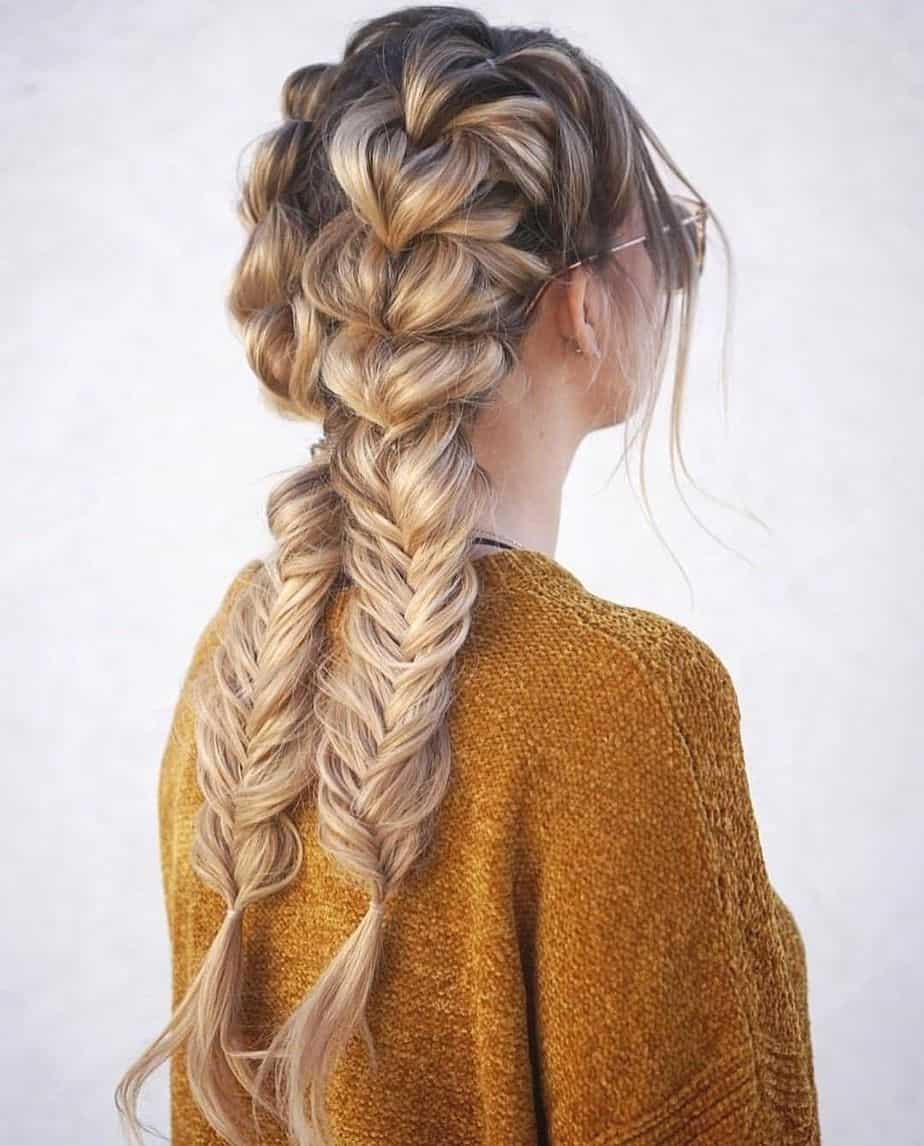 Cute and Easy Long Hairstyles for 2021 Double Dutch Braids