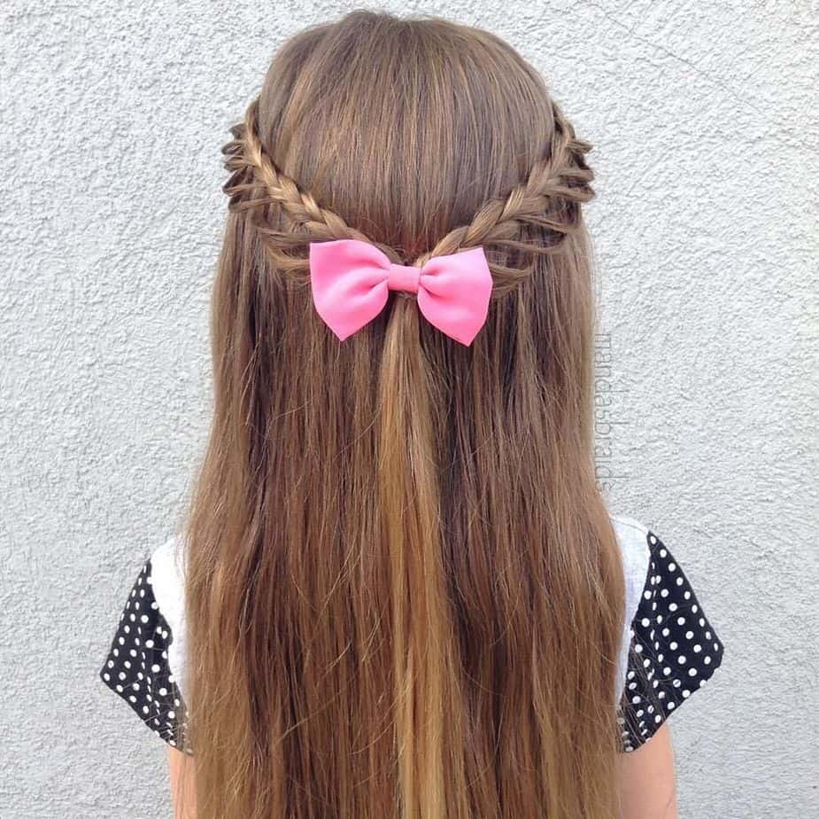 Cute Hairstyles for Girls 2021 Half Up Braid