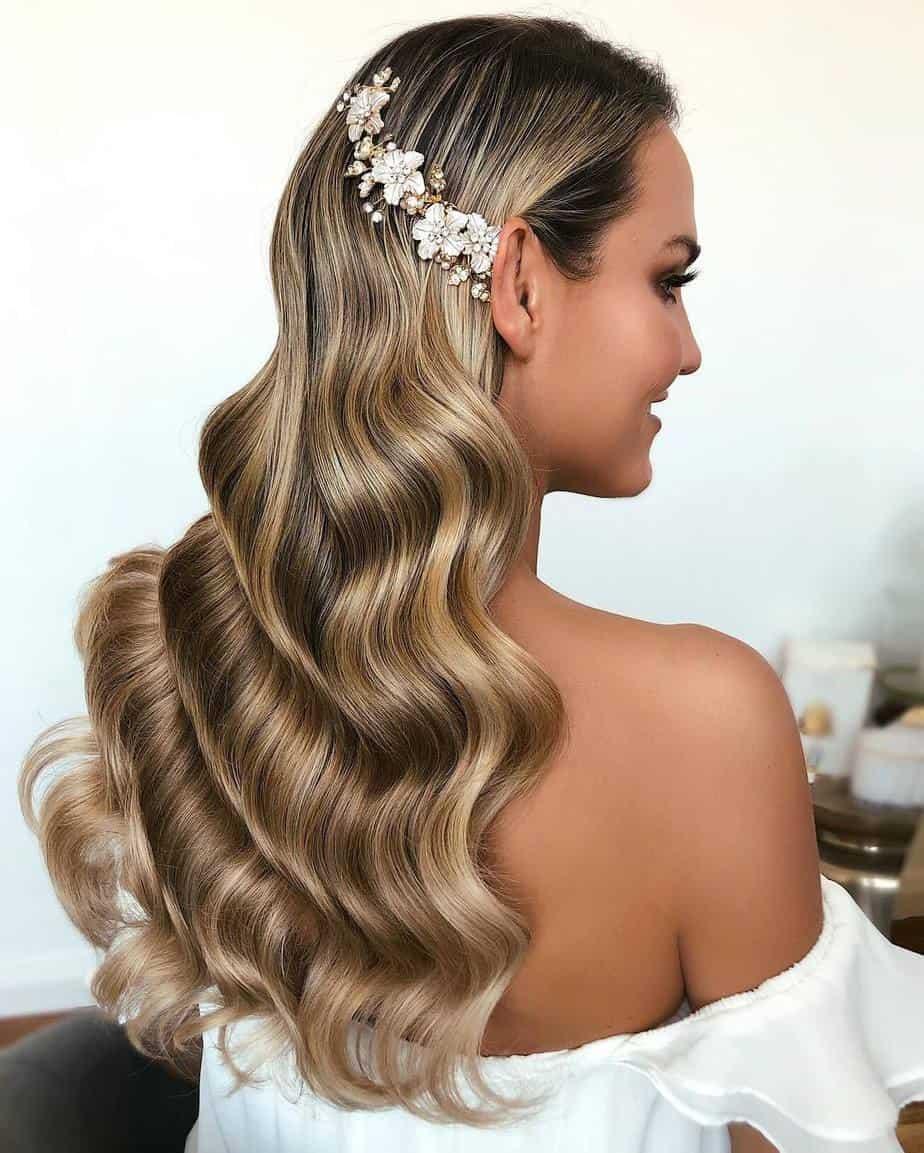 Elegant Long Hairstyles for Women 2021 Retro Curls