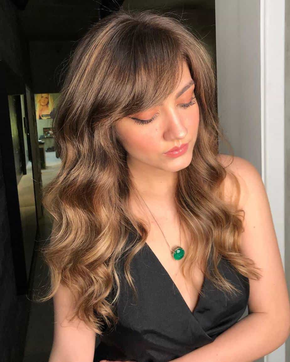 Long Hair With Bangs 2021 Stylish Long Waves