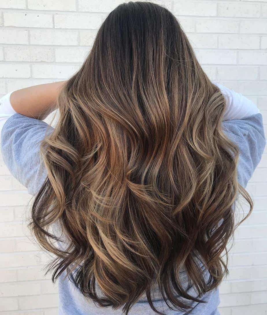 Popular Long Hairstyles for Women 2021 Multi Layered Waves