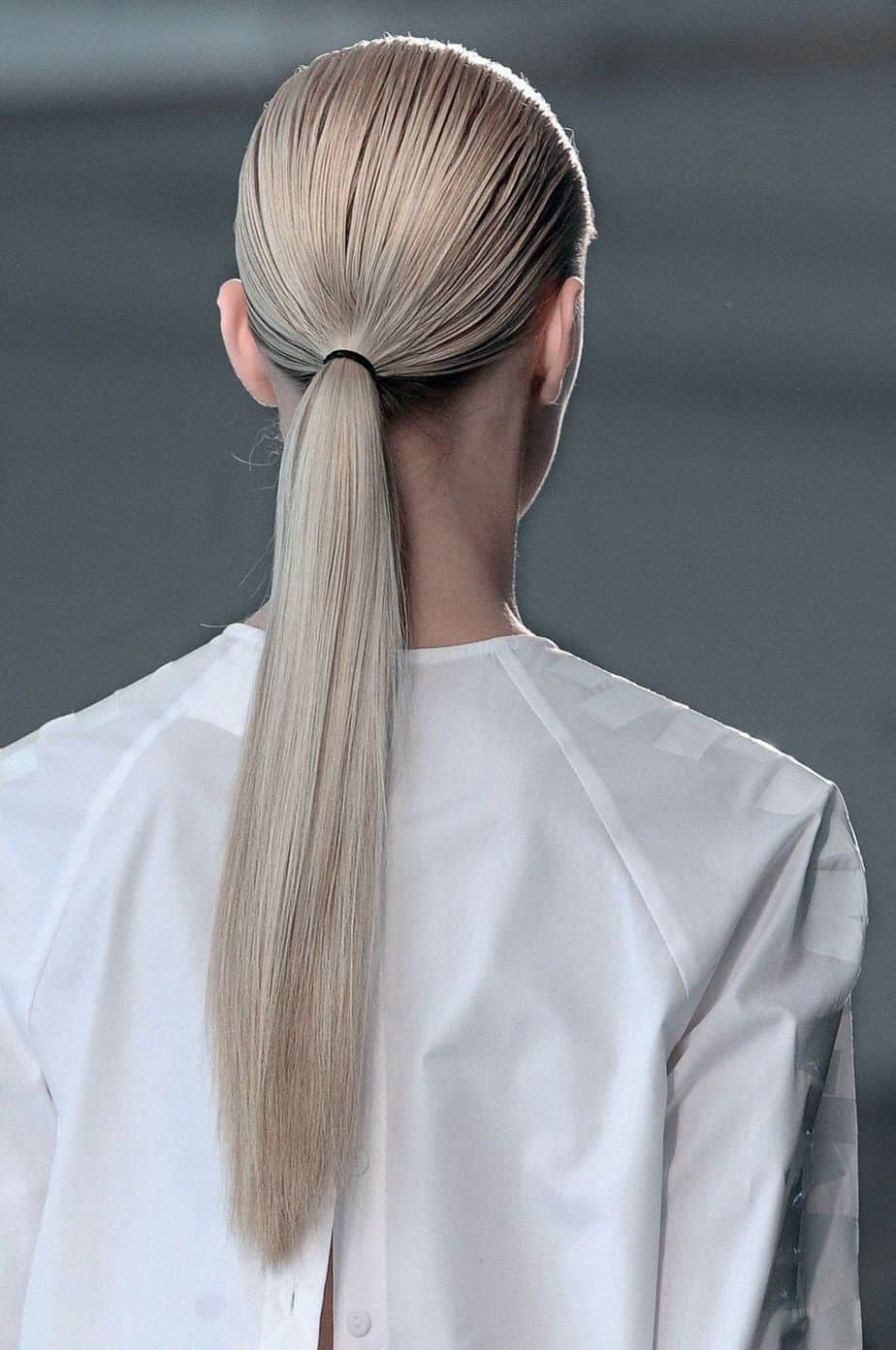 Trendy Hairstyles for Women in 2021 Low Ponytail