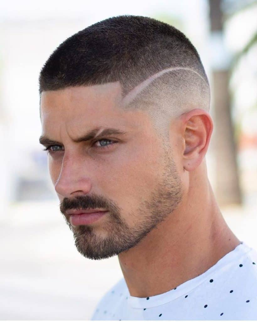 best men's short hairstyles 2021 sleek buzz cut