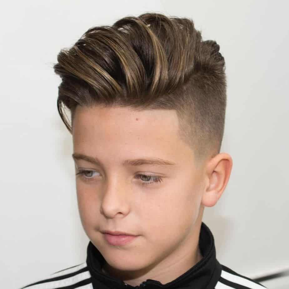 Cool Haircuts for Boys 2021 Quiff with Short Sides