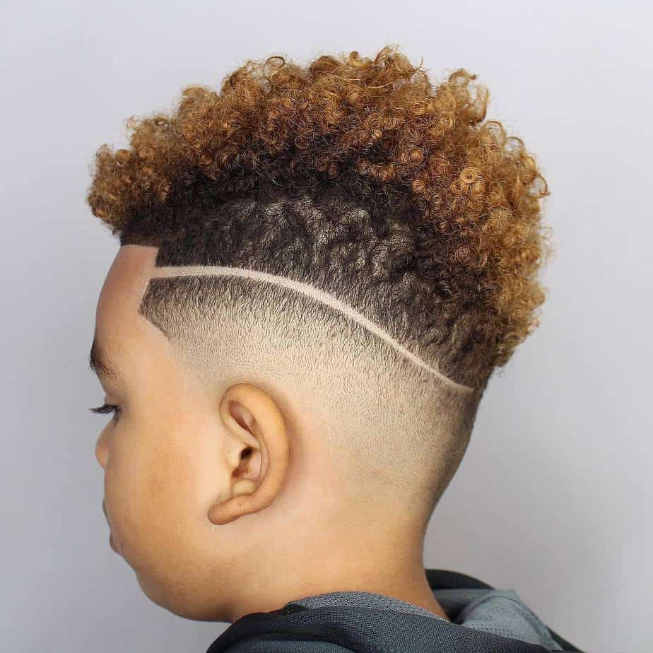 Cool Haircuts for Boys 2021 with Design