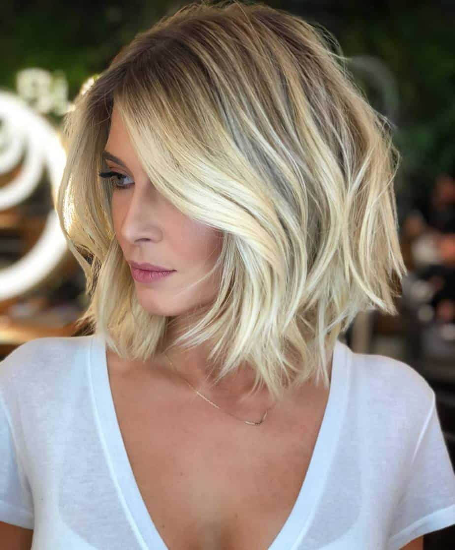 Elegant Short Bob Hairstyles 2021 Loose Textured Waves