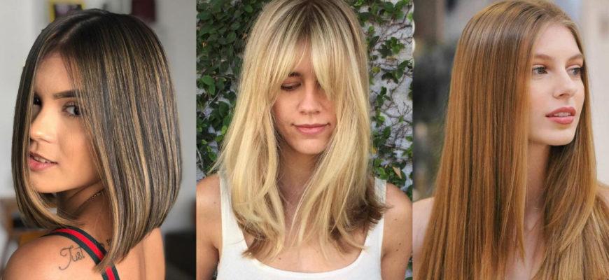 10 Super Stylish Straight Hairstyles 2021 Long, Medium, Short