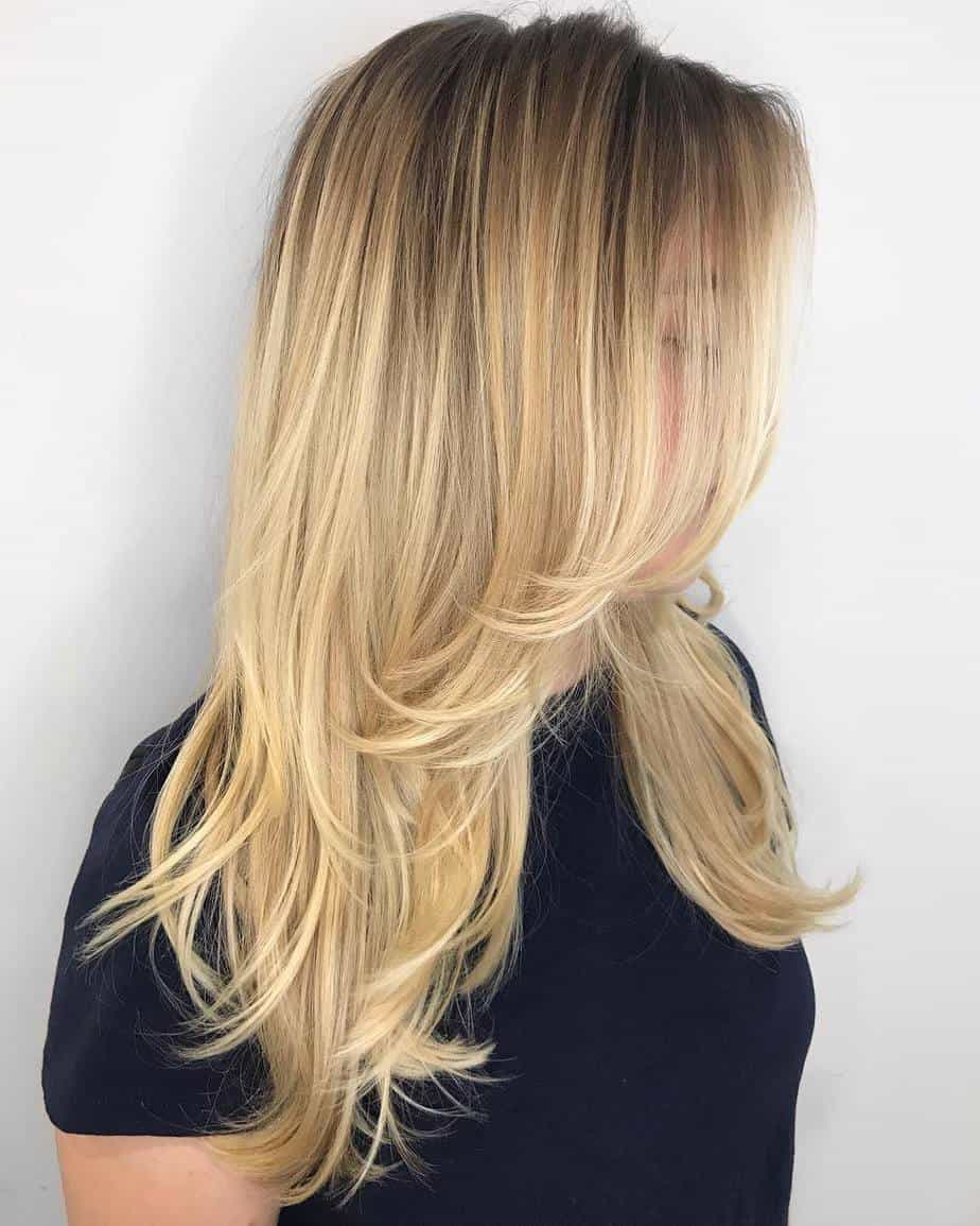 haircuts for thin long hair 2021 multiple layered cut