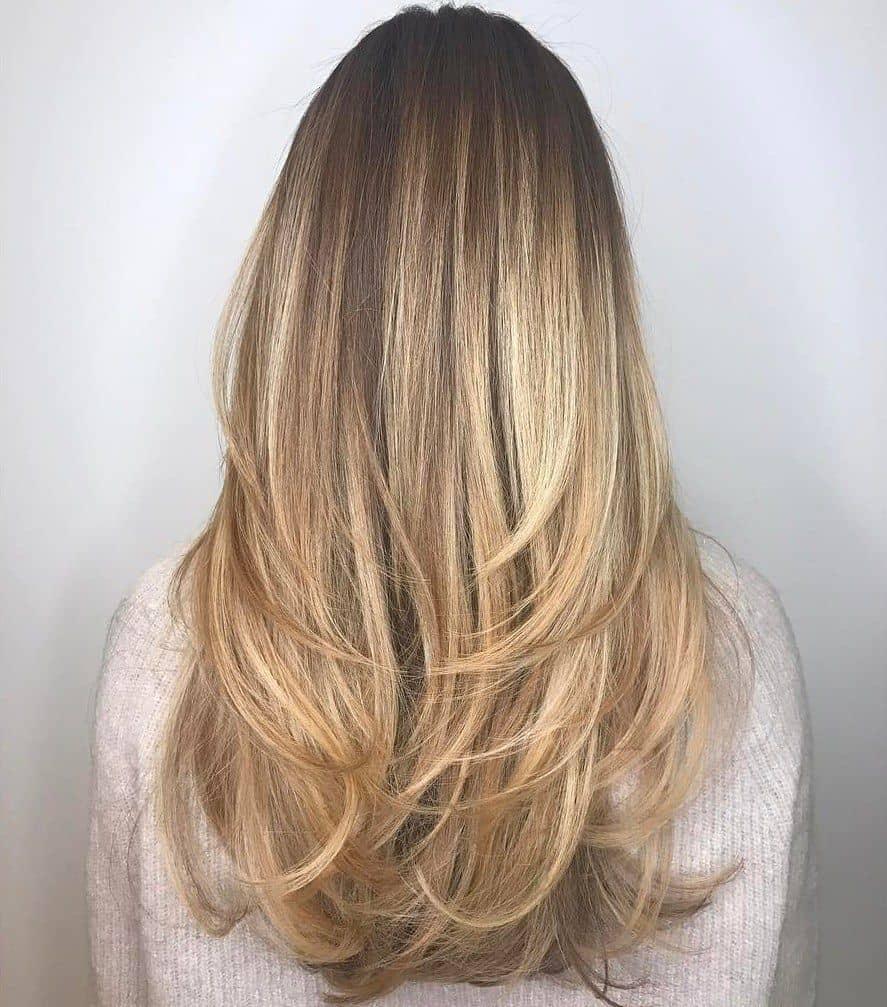 Layered Straight Hairstyles 2021 - Long Layered Cut