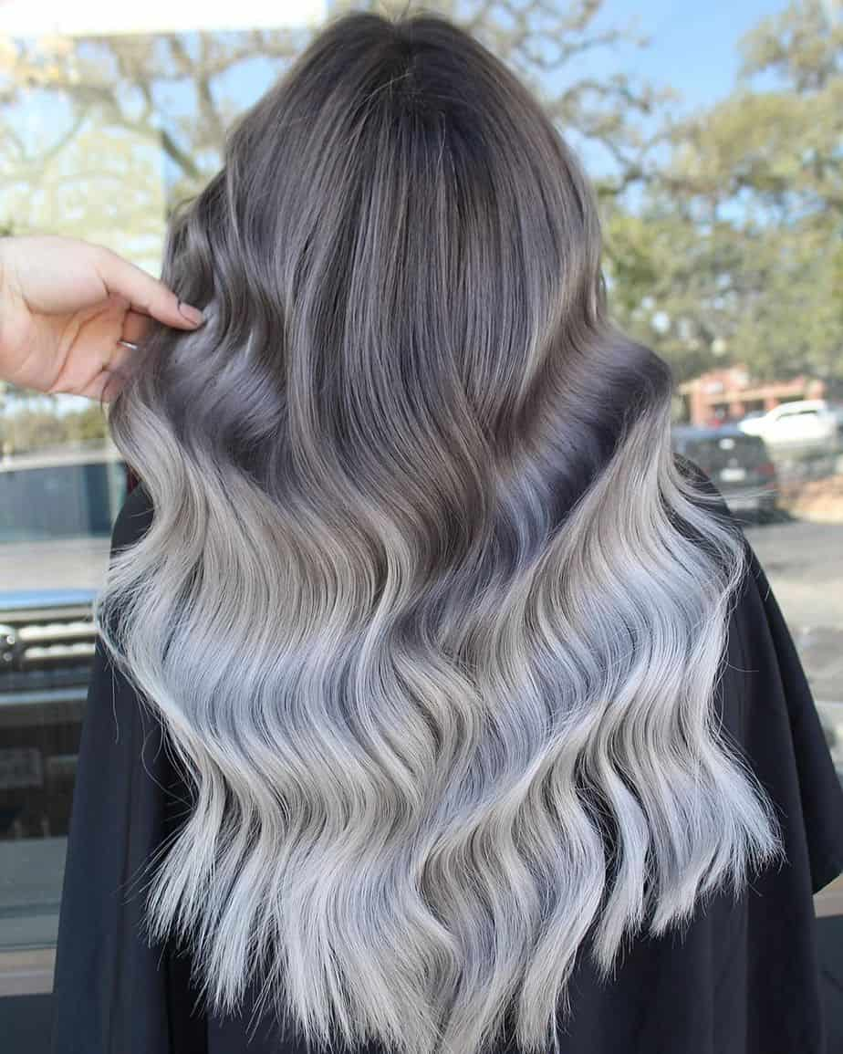 Ombre Hair 2021 - Super Stylish Silver Grey Ombre