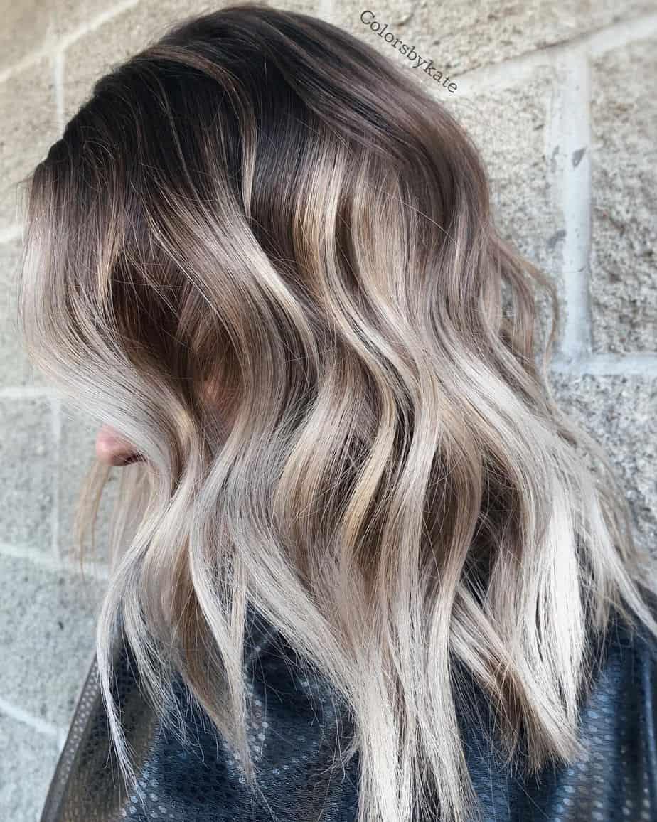 Popular Ombre Hair Colors 2021 - Fabulous Platinum Blonde