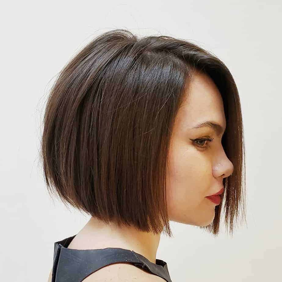 Short Haircuts for Thick Hair 2021 Jaw Length Bob