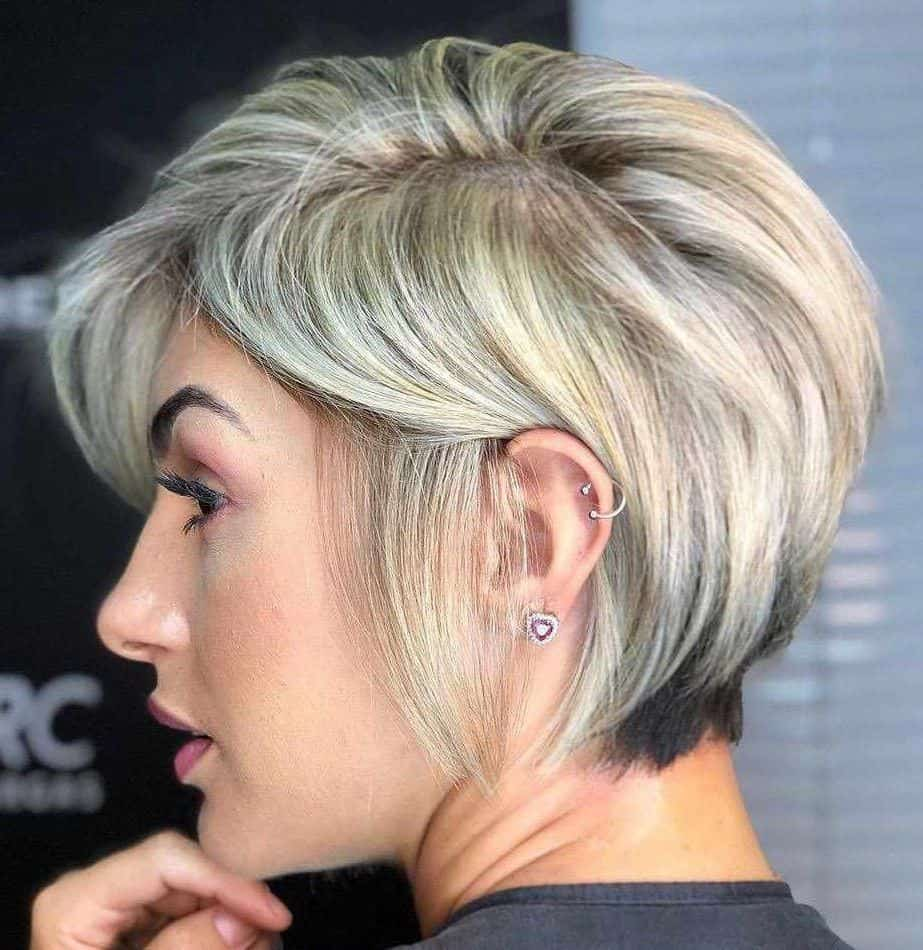 Short Haircuts for Thick Hair 2021 Layered Pixie
