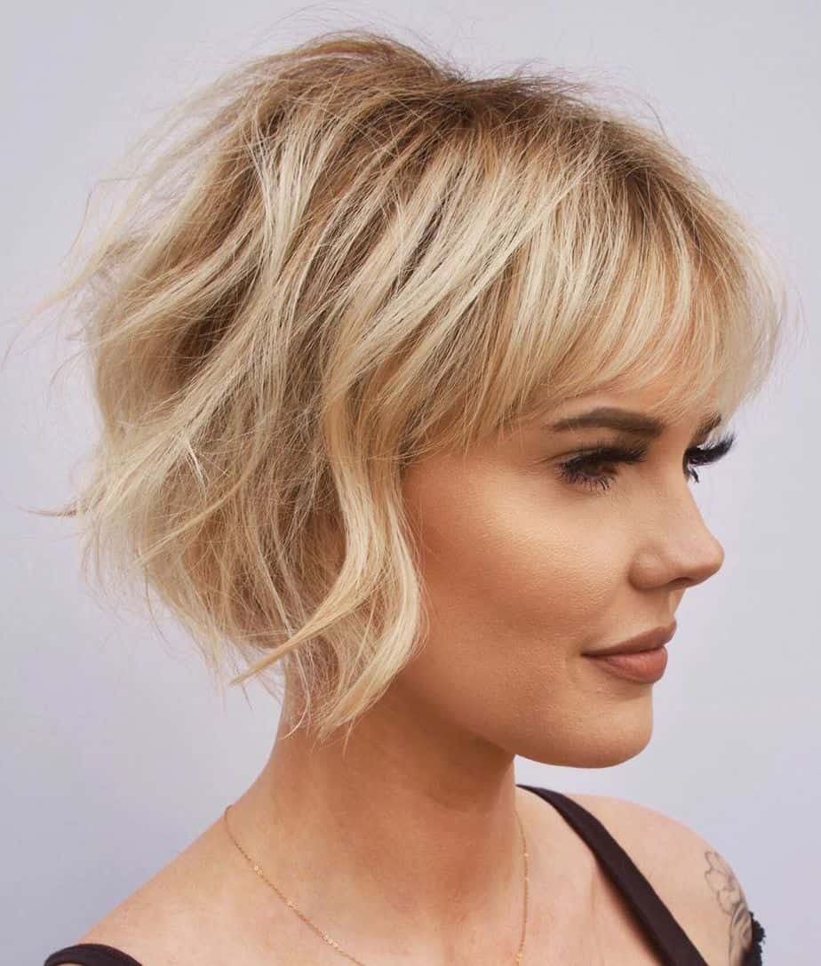 Top 10 Women Haircuts for Thin Hair 2021【Best Trends and Styles】 - Elegant Haircuts
