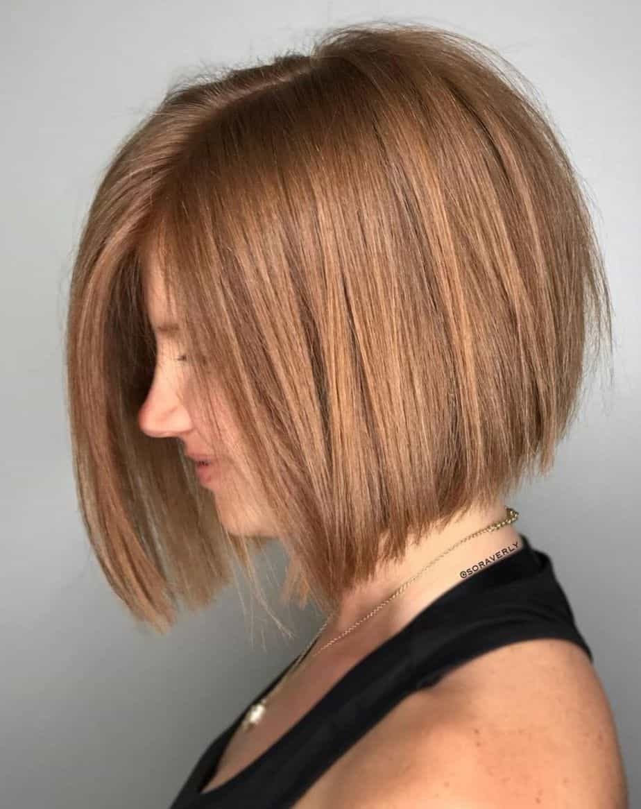 Short Straight Hairstyles 2021 Chin length bob