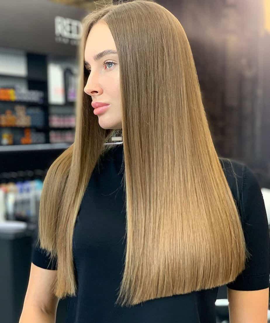 10 Super Stylish Straight Hairstyles 2021: Long, Medium ...