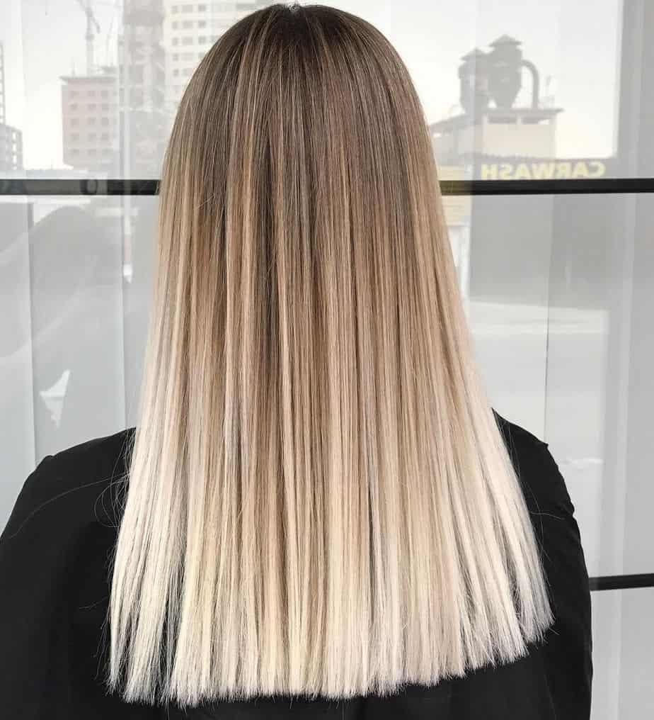 Summer Ombre Hair 2021 - Light Brown to Light Blonde