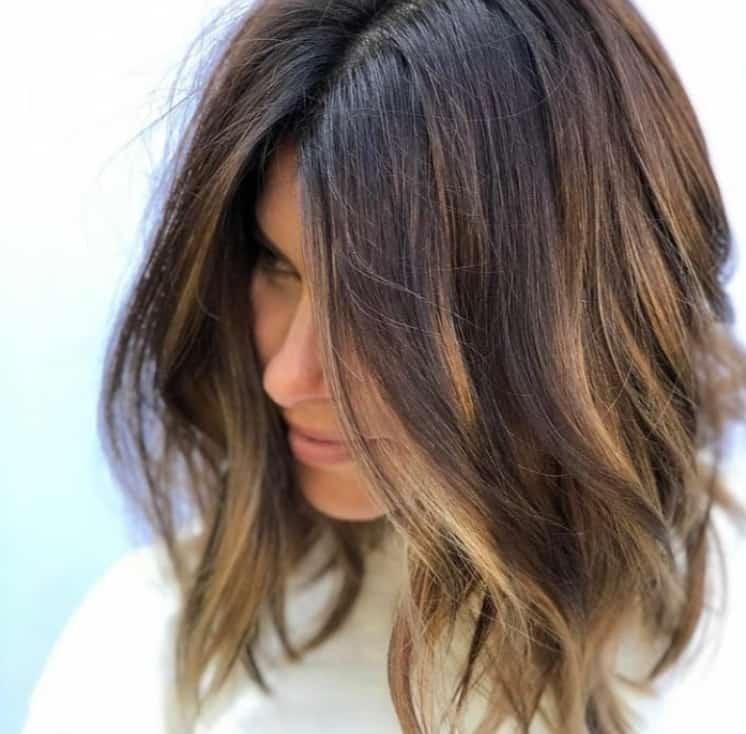 Balayage Brown Hair 2022: Dark Chestnut
