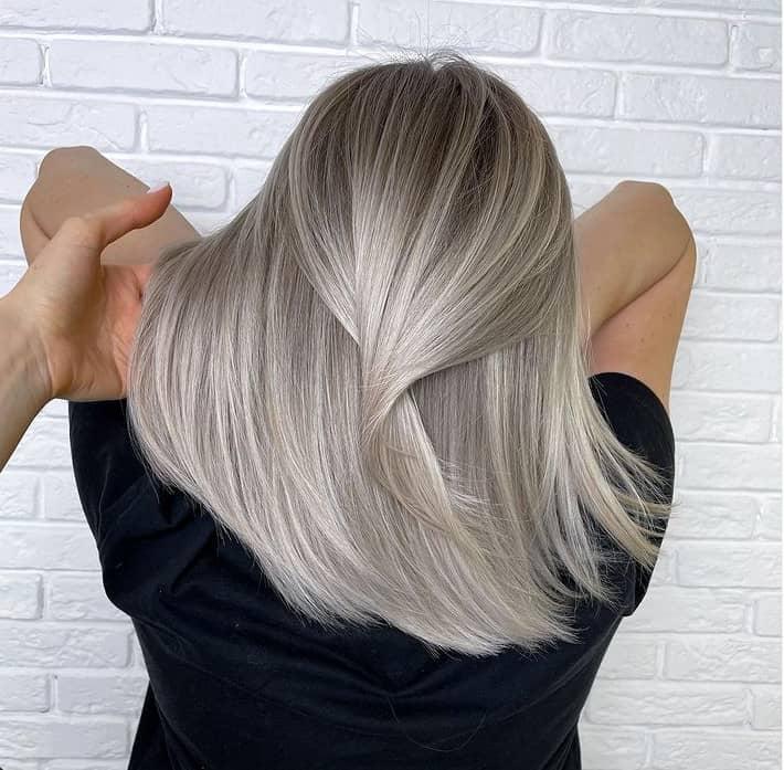 Balayage medium Hair 2022