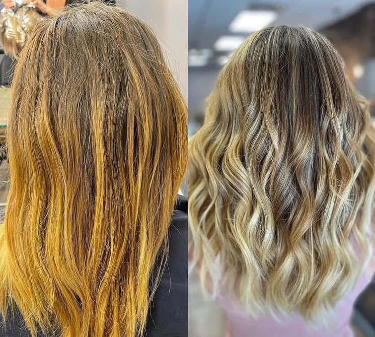 Golden Balayage Hair Ideas 2022