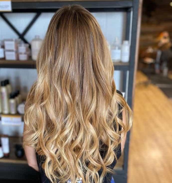 Blonde Balayage 2022