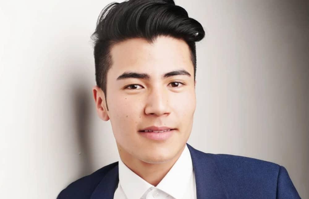 Men's Haircuts 2022 with Bangs