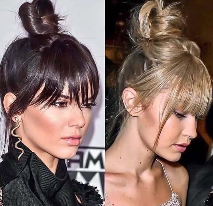 Trendy Long Hairstyles with Bangs 2022 long bangs