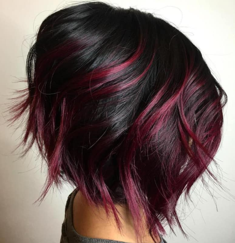 Burgundy Ombre 2022