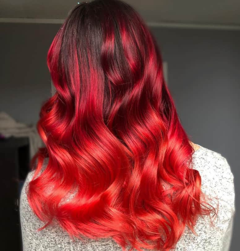 Red Ombre 2022