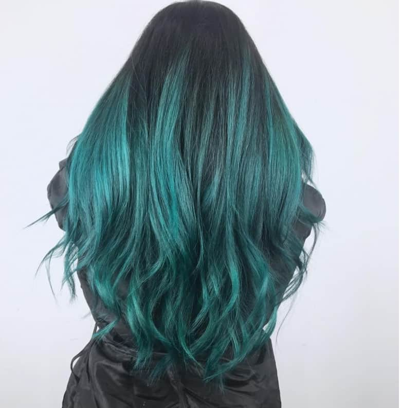 Ombre in Oriental Style