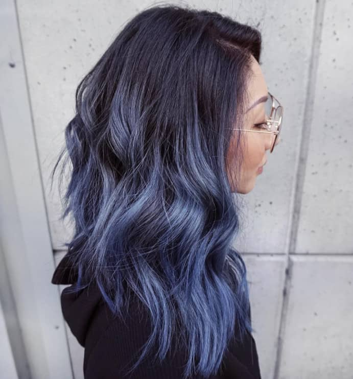 Wavy Style Ombre Hairstyles 2022