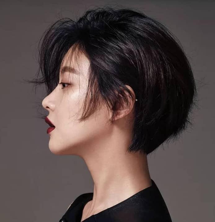 Asymmetrical Straight Hairstyles 2022