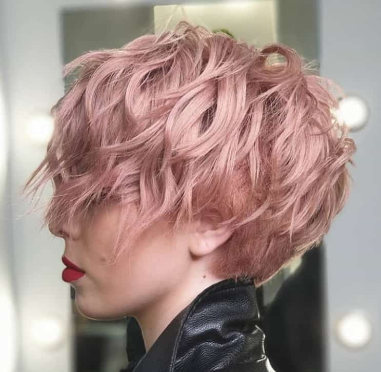 2022 Pixie Haircuts with A High Shaved Nape