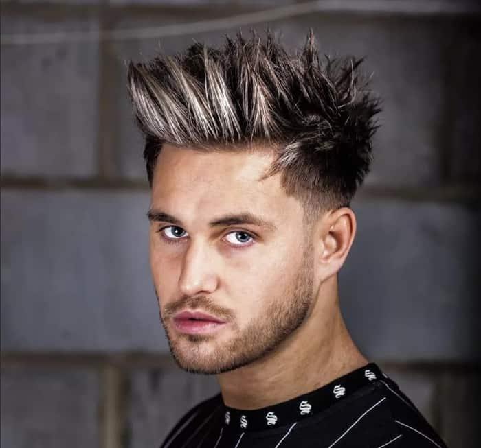 Hedgehog-short-hairstyles-for-men-2022
