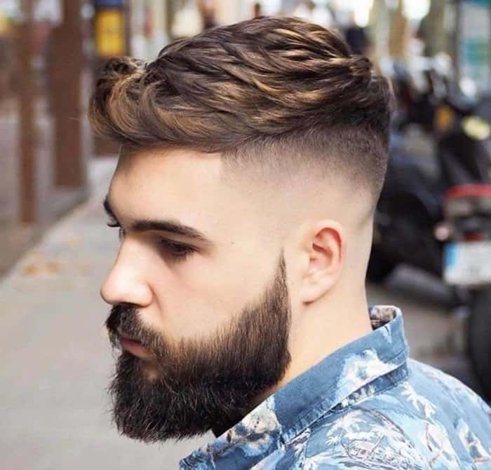Fading-short-hairstyles-for-men-2022