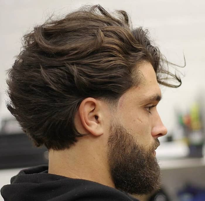 Short Bob-short-hairstyles-for-men-2022