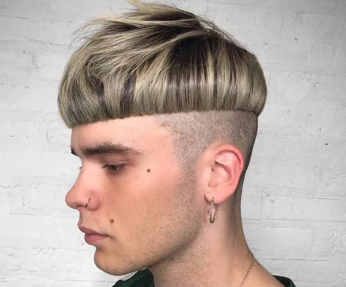 A Bowl Cut-mens-hairstyles-2022