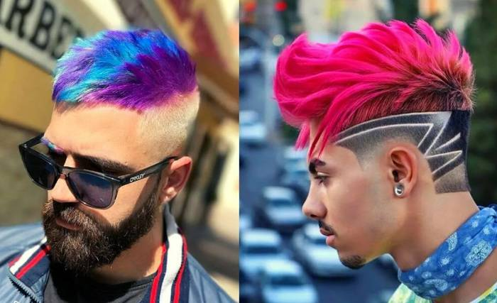 Dyeing-short-hairstyles-for-men-2022